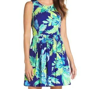 NWT Lilly Pulitzer Kassia Dress Twilight Blue